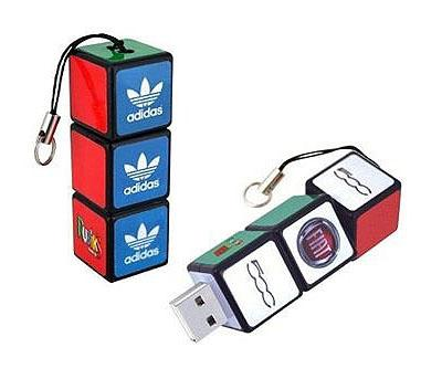 Rubik Cube Customizable Thumb Drive Personalized with Encryption