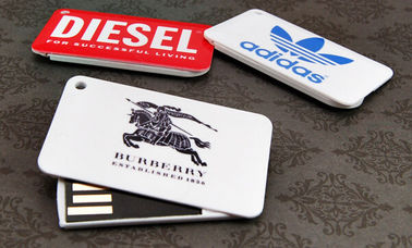 China Plastic Credit Card USB Stick / Wallet Size Usb Flash Drive Business Card factory
