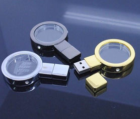 China 16 Gig Crystal USB Flash Drive 3.0 gift box Packing 3 Years Warranty factory