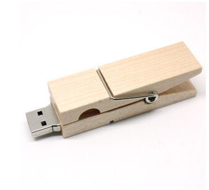 China Personalized Wooden Flash Drives Supports Multi Partition Password Access factory