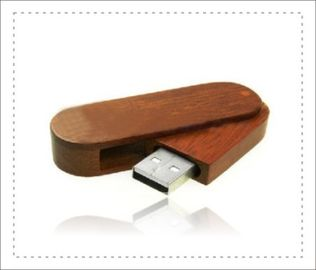 China High Storage Wood USB Flash Drive With Logo / Usb Wooden Memory Sticks factory