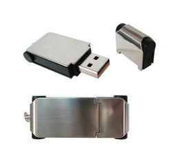Logo Custom Mini Metal Usb 3.0 Flash Drive Metal 10 Years Data Retention