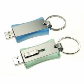 High Capacity Metal USB Memory Stick / Business Metal Usb Keyring OEM