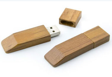 China Custom Wood Usb Flash Drive / Wooden Memory Stick USB 2.0 USB 3.0 USB 3.1 factory