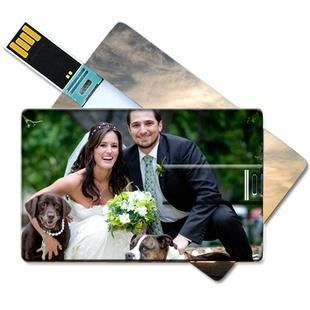 Large area Custom-made Full Color Plastic Credit Card USB Flasth Drive