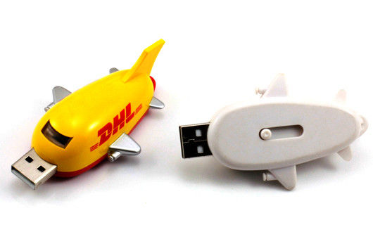 Customized USB Thumb Airplane Drives Compatible Windows 98 Airplane Shaped U057/SY045