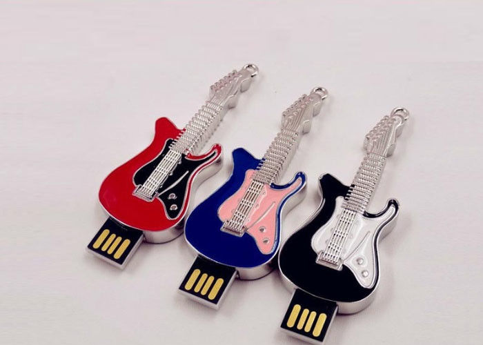 Small Hi - Speed Jewelry Guitar Portable Usb Flash Drive 64gb Customed Logo