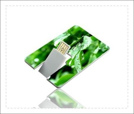 High Capacity Credit Card USB Stick / Flash Drive That Looks Like A Credit Card supplier