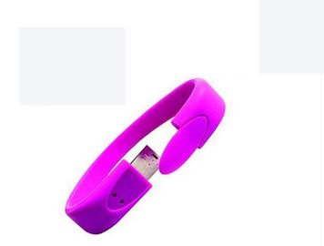 China 4GB Wristband USB Flash Drive Bracelets 100% Capacity wristband thumb drive distributor